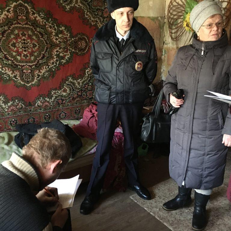 Рейд в рамках общероссийской акции «Сообщи, где торгуют смертью»!