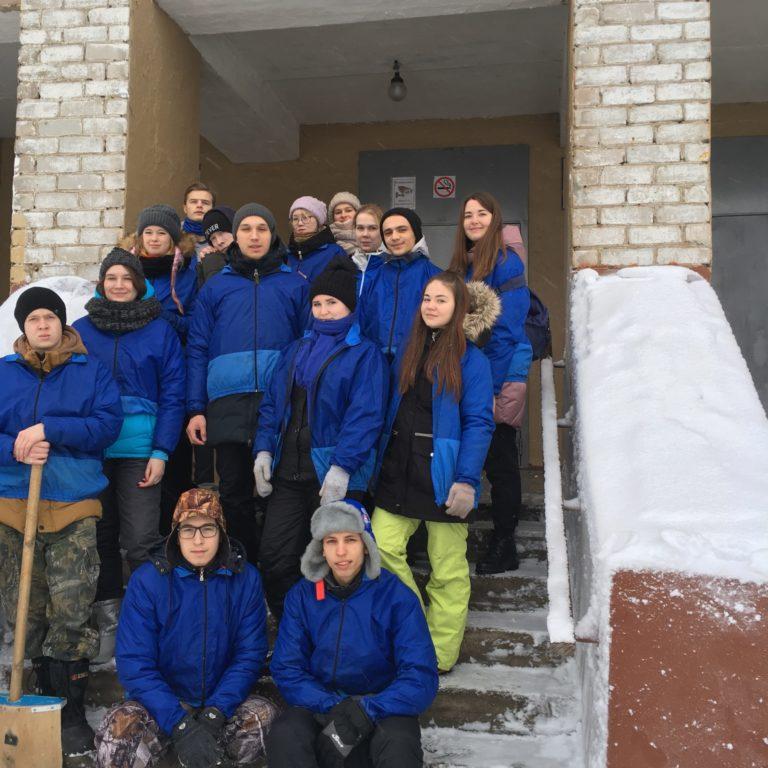 Добрая миссия Студенческих отрядов Кировской области «Снежный десант 2020»